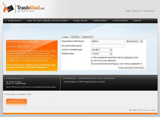 Trashmail Net